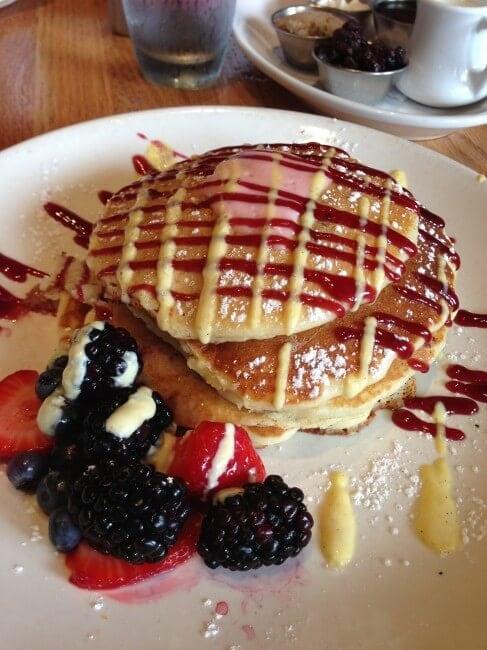 Wildberry pancakes