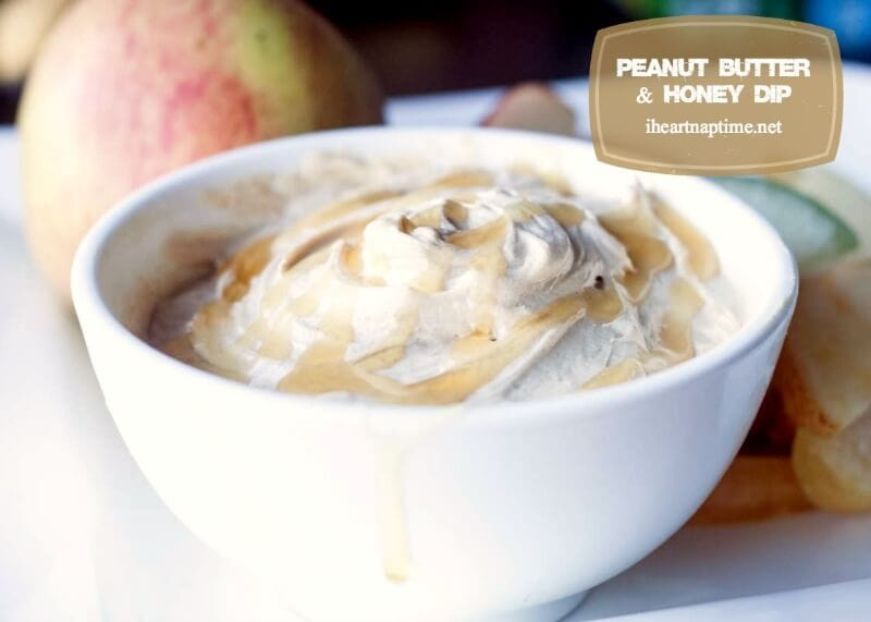 Peanut Butter & Honey Dip