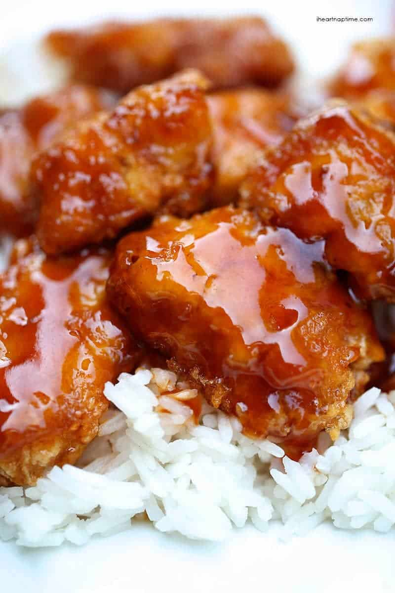 Baked sweet and sour chicken recipe - I Heart Naptime