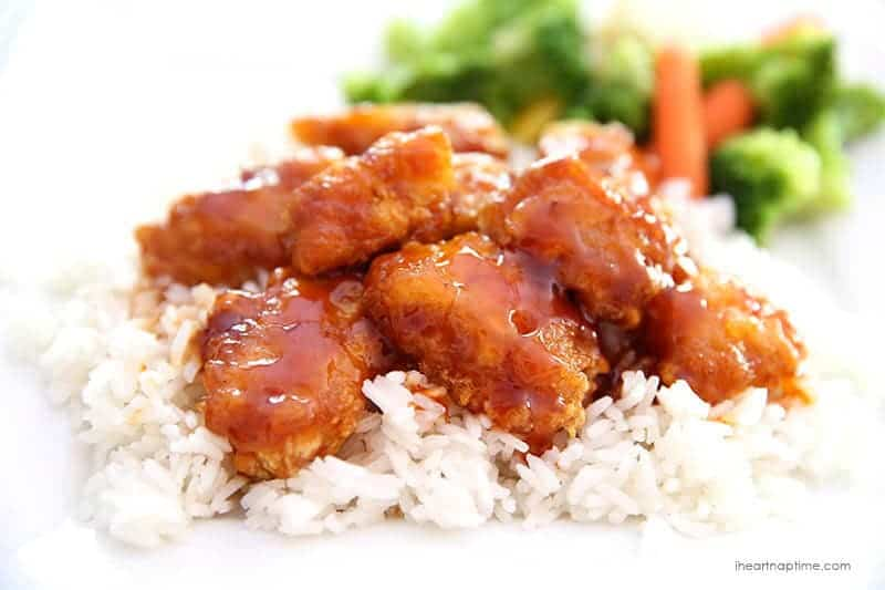 Sweet and sour chicken recipe on iheartnaptime.com ... seriously so ...