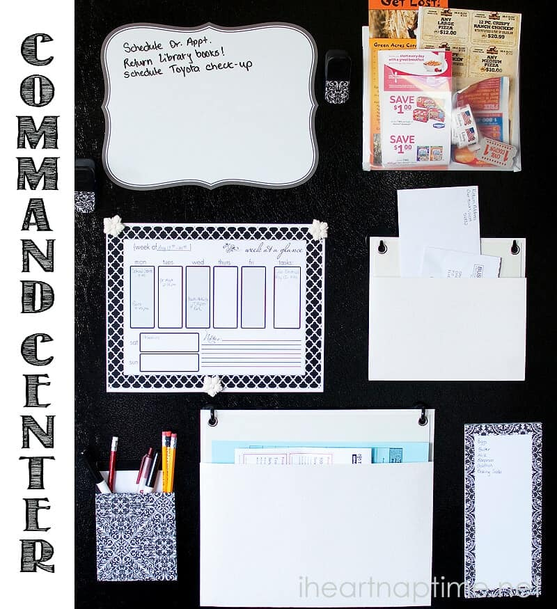 DIY Family Command Center
