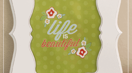 free life is beautiful print at i heart naptime.