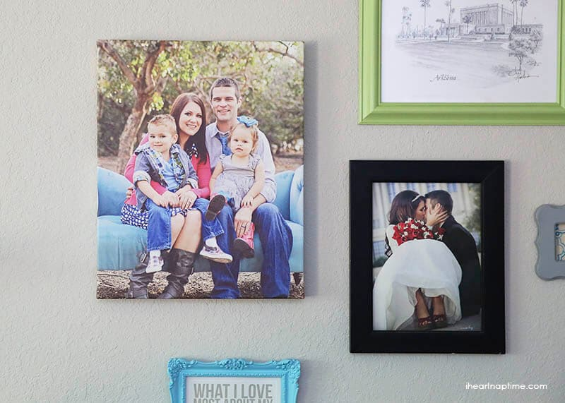 How to make a gallery wall on iheartnaptime.com #DIY #homedecor #tips