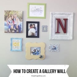 how to make a gallery wall 9