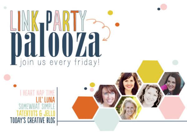 Link Party Palooza every Friday night iheartnaptime.com