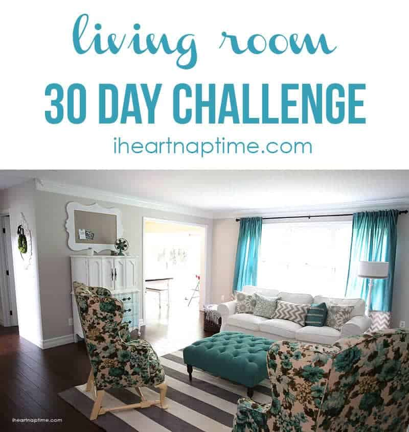 Living Room Makeover: 30 Day Living Room Makeover!!