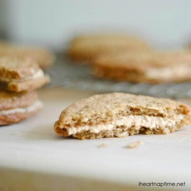Peanut Butter Oatmeal Sandwich Cookies » oatmeal peanut butter ...