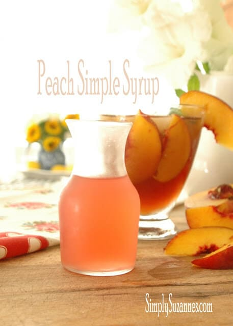peach simple syrup 8