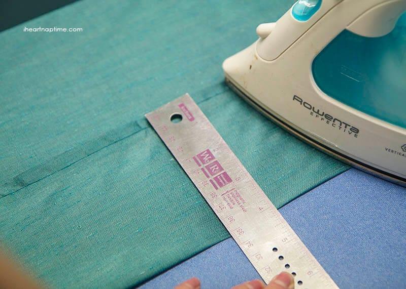 sewing a hem 1