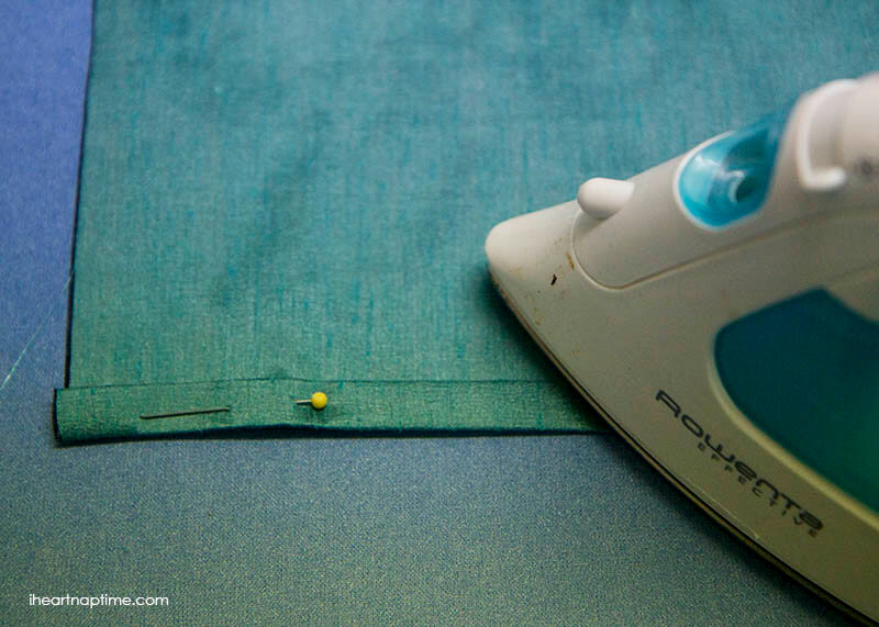 sewing a hem