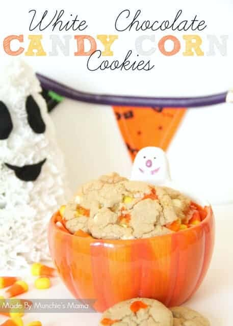 Candy corn cookies image
