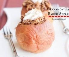 Cinnamon-Oat Baked Applesmain1