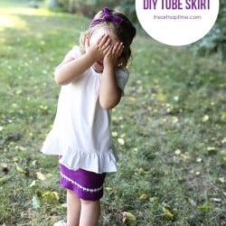 DIY tube skirt  I Heart Nap Time