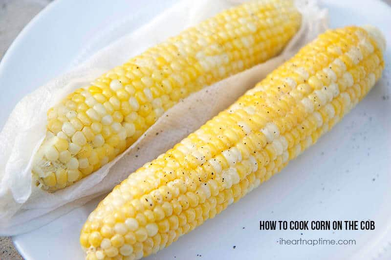 How to cook corn on the cob the easy way
