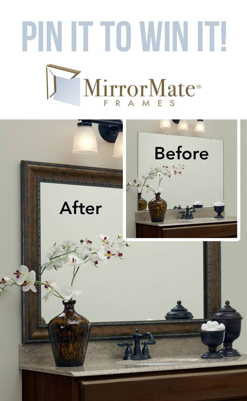 Pin it to win it - a Mirror Mate frame