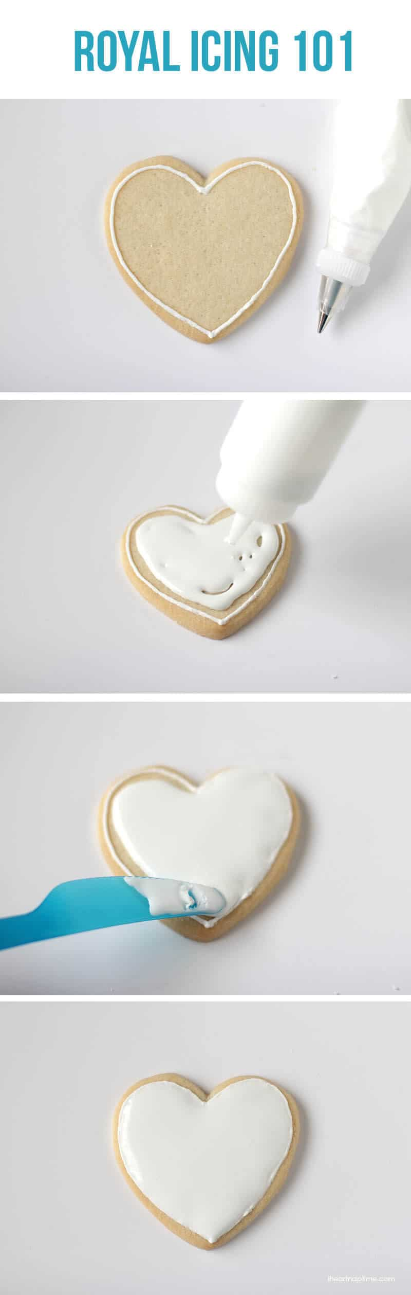 "Royal icing 101 on iheartnaptime.com ...learn the basics to creating ""fancy"" cookies! #cookies #tips"