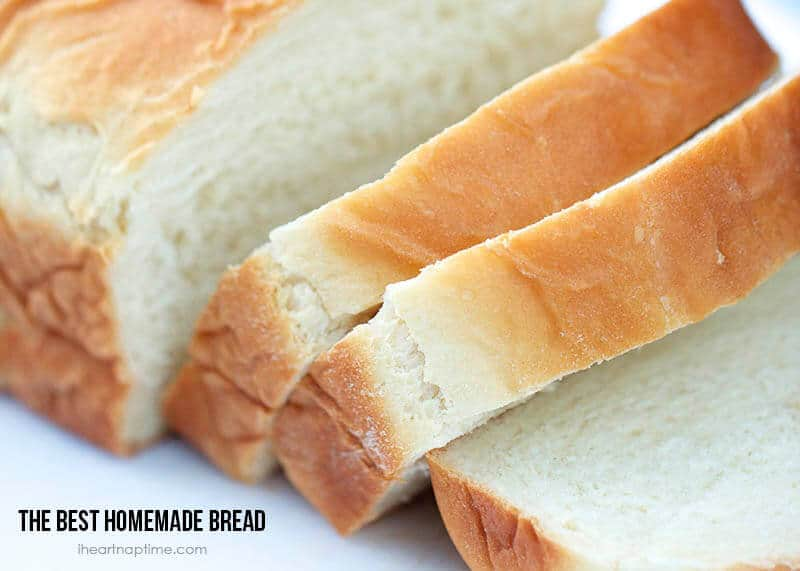 How to make homemade bread {my fav recipe}