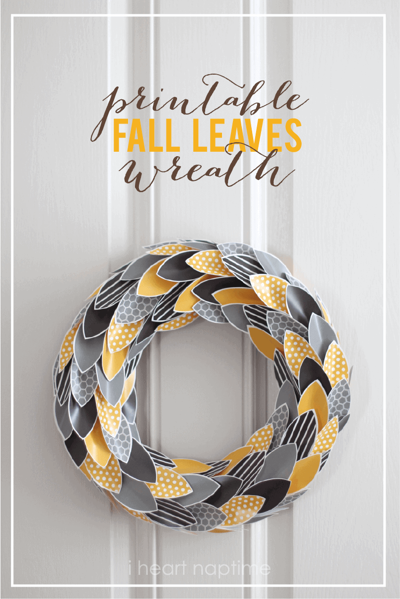 i love this fall wreath at i heart naptime