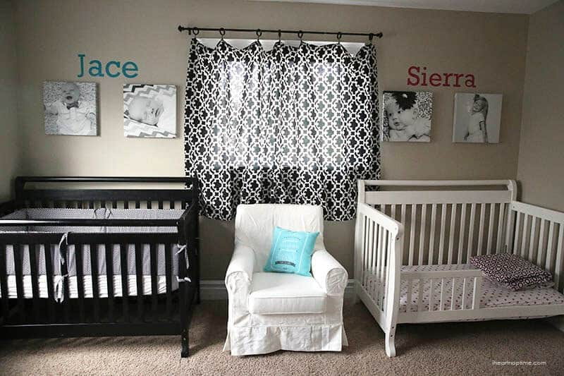 one hour nursery makeover