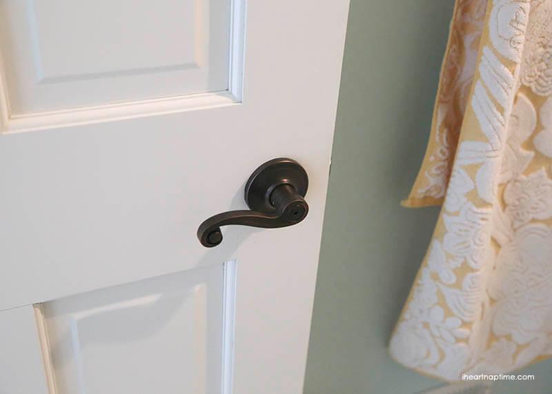 new door handles and painted door