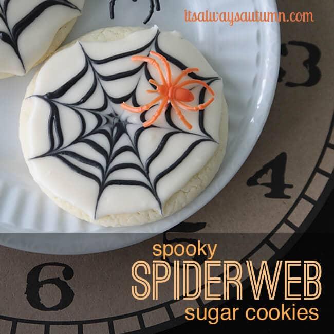 spiderweb-sugar-cookies-easy-halloween-treat-kids-craft