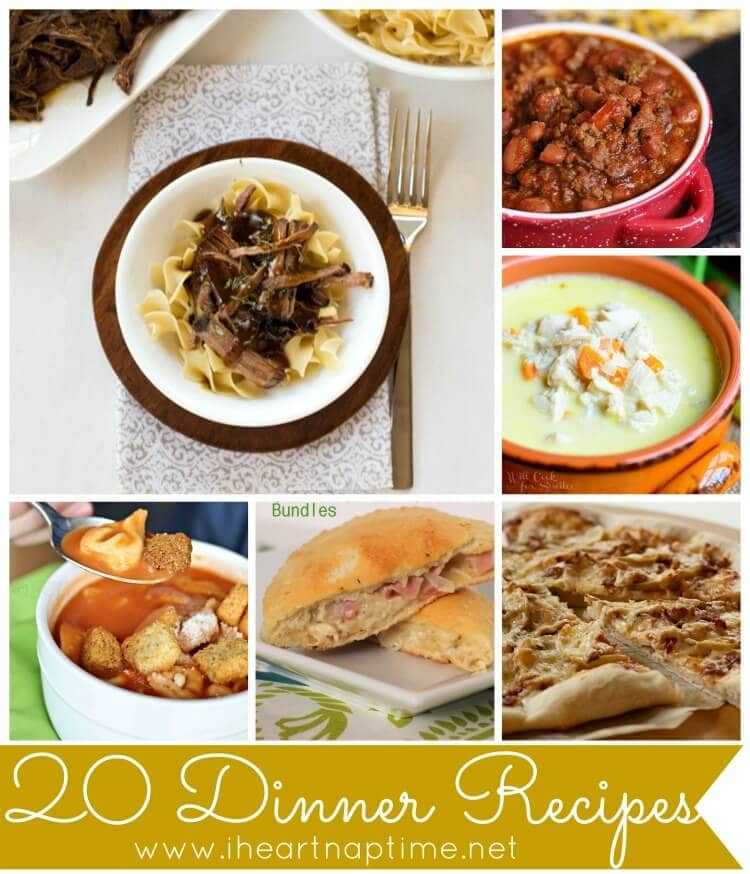 20 Dinner Recipes