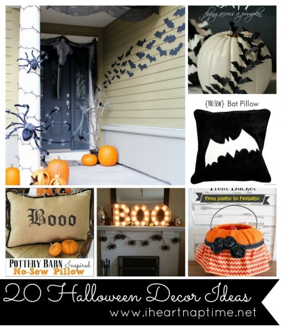 20 Halloween Decor Ideas