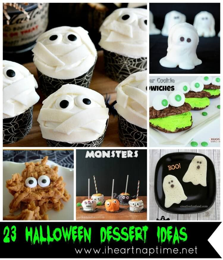 23 Halloween Dessert Ideas