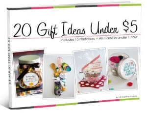 20 gift ideas for under $5