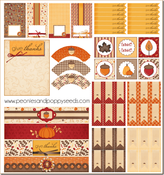 50 BEST Thanksgiving Printables 17
