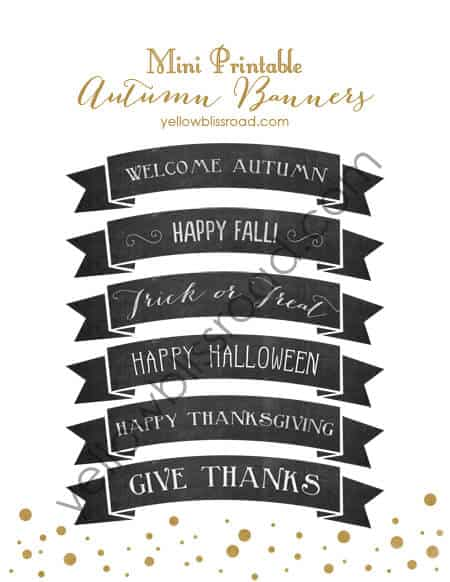 50 BEST Thanksgiving Printables 18