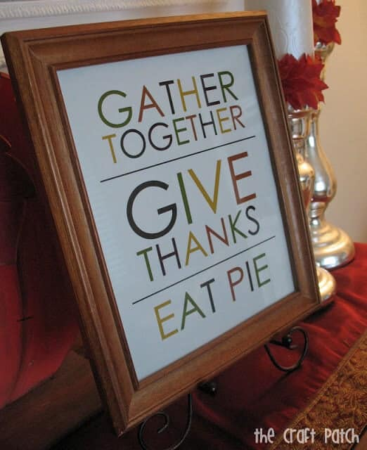 50 BEST Thanksgiving Printables 24