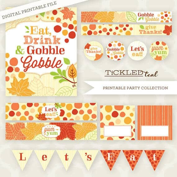 50 BEST Thanksgiving Printables 25