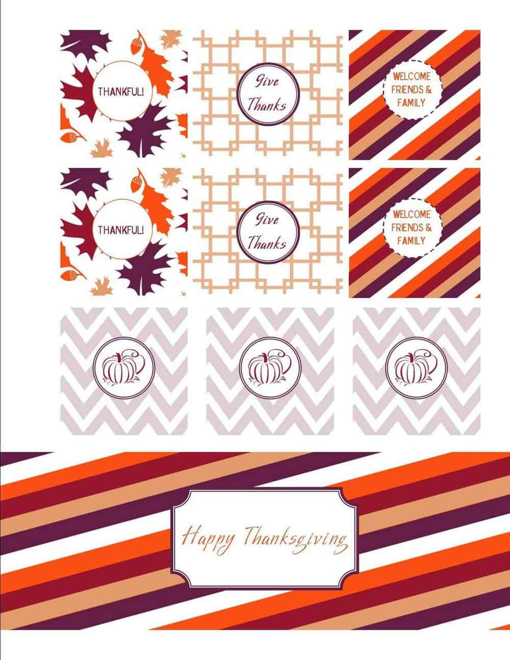 50 BEST Thanksgiving Printables 29