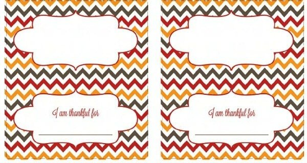 50 BEST Thanksgiving Printables 35