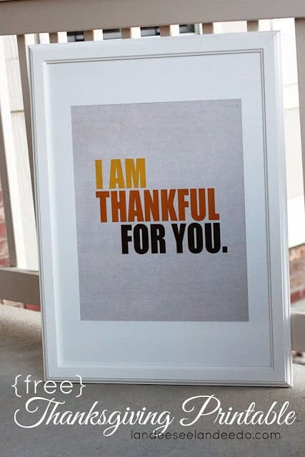 50 BEST Thanksgiving Printables 46