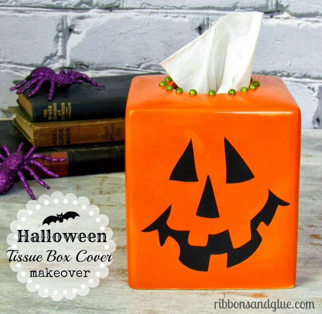 Halloween tissue box cover 2