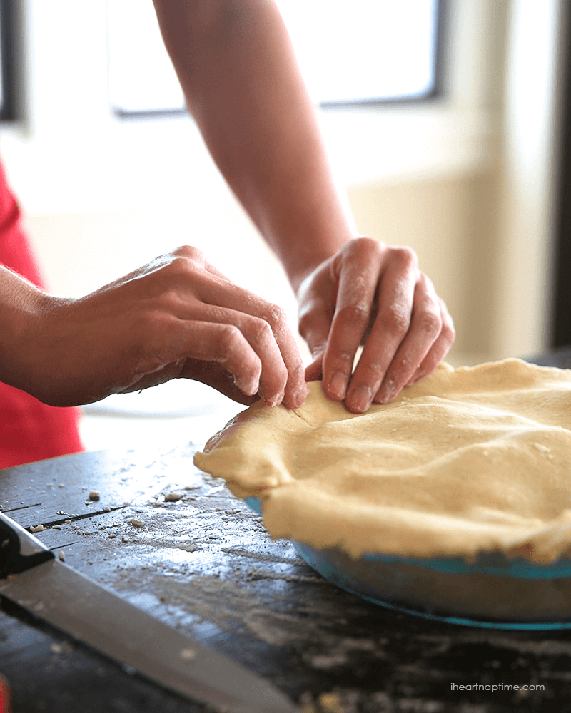 Making pies. Image by I Heart Nap Time
