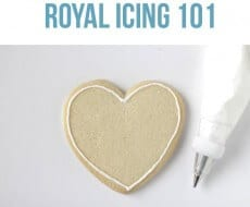 Royal icing tutorial on I Heart Nap Time