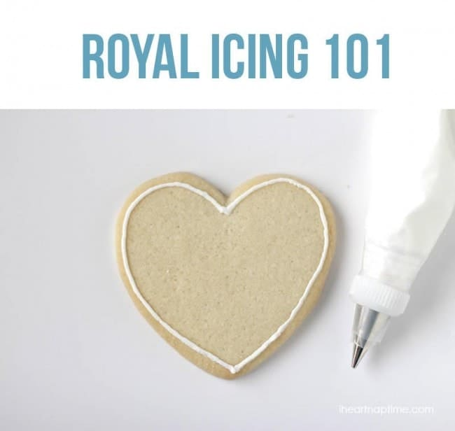 Royal icing 101 on iheartnaptime.com ...learn the basics to creating ...