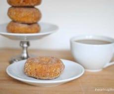 baked pumpkin doughnuts 2