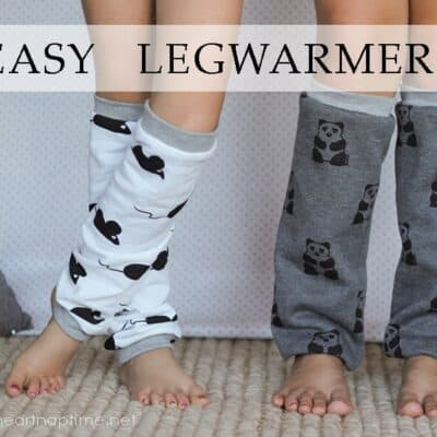 Easy Legwarmers Tutorial