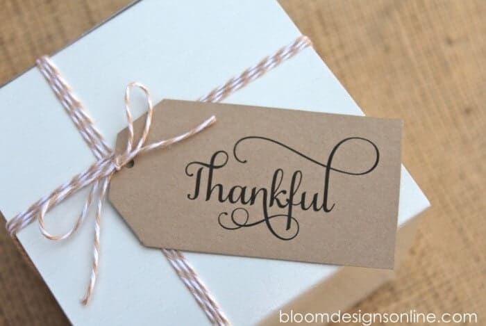 thankful tags