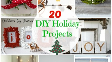 20 DIY Holiday Projects