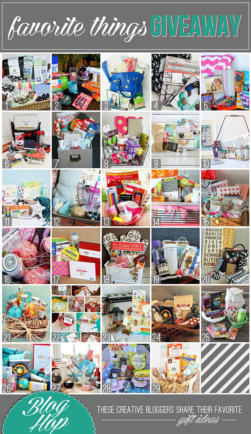 2013 favorite things giveaway blog hop