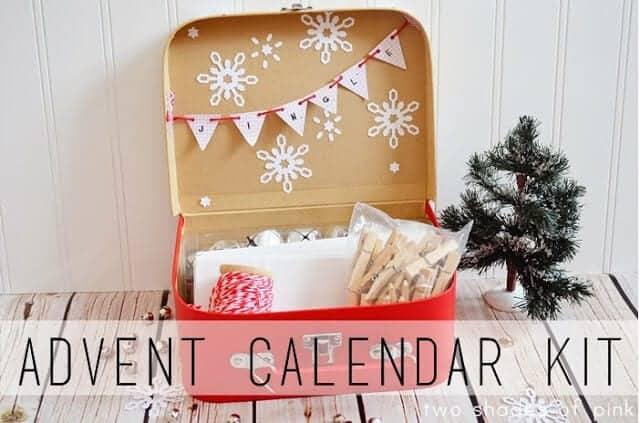 Decor to adore november 2013 - Advent Calendar Kit I Heart Nap Time