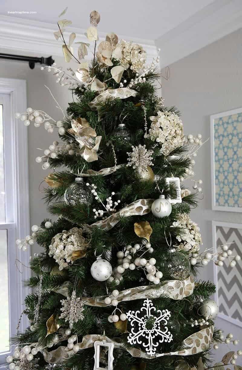 Gold christmas tree gold christmas tree