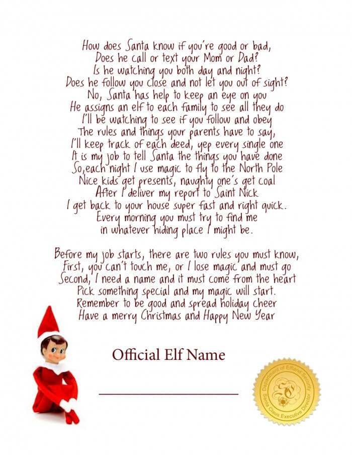 Elf poem