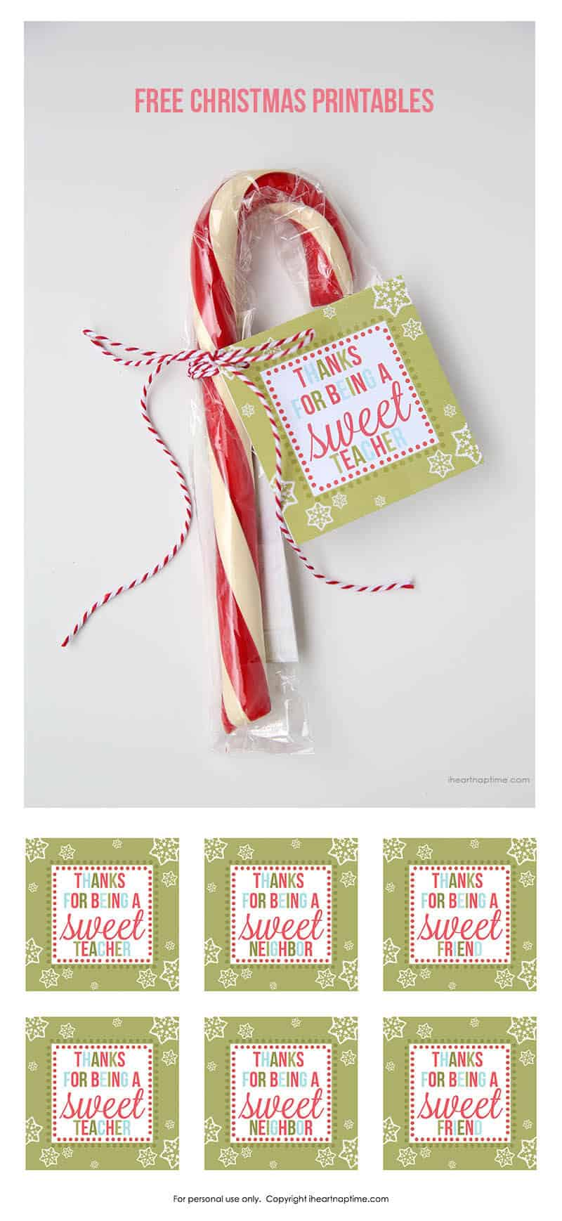 Adorable image pertaining to holiday tags printable