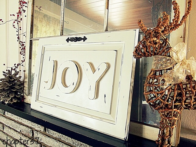 JOY Cabinet Door Decor